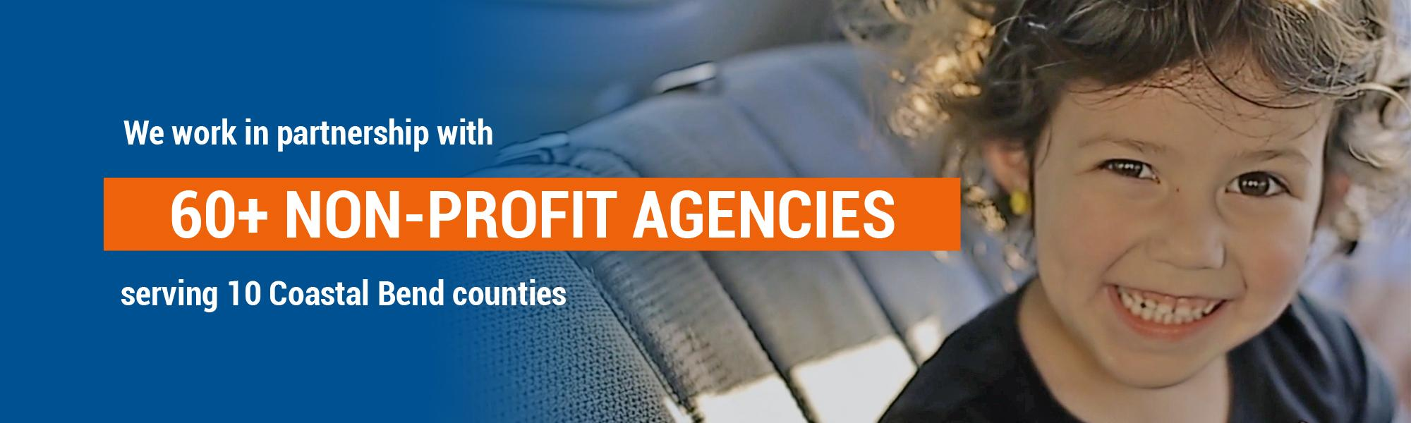 60plus nonprofit agencies